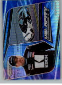 2020 Panini Prizm Blue and Carolina Blue Hyper Prizm Racing #76 Ryan Newman Koch