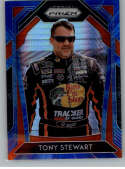 2020 Panini Prizm Variations Blue and Carolina Blue Hyper Prizm Racing #SMOKE Tony Stewart Bass Pro Shops