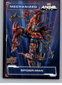 2020 Upper Deck Marvel Anime Mechanized NonSport #M-2 Spider-Man