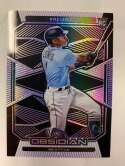 2020 Panini Chronicles Obsidian Electric Etch Purple Baseball #13 Kyle Lewis SER/99 Seattle Mariners