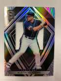 2020 Panini Chronicles Spectra Silhouettes Baseball #70 Austin Meadows Jersey/Relic Tampa Bay Rays