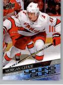 2020-21 Upper Deck Hockey #210 Morgan Geekie RC YG Carolina Hurricanes Young Guns