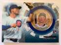 2020 Topps Update Baseball Coin Cards Relics Baseball #TBC-NH Nico Hoerner Relic Chicago Cubs