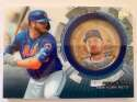 2020 Topps Update Baseball Coin Cards Relics Baseball #TBC-PA Pete Alonso Relic New York Mets