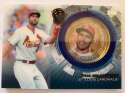 2020 Topps Update Baseball Coin Cards Relics Baseball #TBC-PG Paul Goldschmidt Relic St. Louis Cardinals