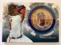 2020 Topps Update Baseball Coin Cards Relics Baseball #TBC-RA Ronald Acuna Jr. Relic Atlanta Braves