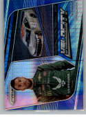 2020 Panini Prizm Blue and Carolina Blue Hyper Prizm #80 Bubba Wallace U.S. Air Force
