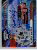 2020 Panini Prizm Patented Penmanship Blue and Carolina Blue Hyper Prizm #6 Darrell Waltrip Auto Autograph SER/10