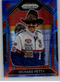 2020 Panini Prizm Variations Blue and Carolina Blue Hyper Prizm #KING Richard Petty STP