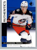 2019-20 SP Blue #120 Alexandre Texier Columbus Blue Jackets