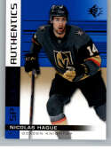 2019-20 SP Blue #139 Nicolas Hague Vegas Golden Knights