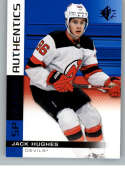2019-20 SP Blue #140 Jack Hughes New Jersey Devils