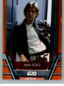 2020 Topps Star Wars Holocron Series Orange #Reb-10 Han Solo SER/99