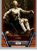 2020 Topps Star Wars Holocron Series Orange #Reb-19 C-3PO SER/99