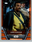 2020 Topps Star Wars Holocron Series Orange #Res-25 Lando Calrissian SER/99