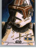 2020 Topps Star Wars Holocron Series Sketch Cards #NNO Clone Trooper Richard Serrao