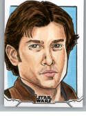 2020 Topps Star Wars Holocron Series Sketch Cards #NNO Han Solo Thomas Tom Amici